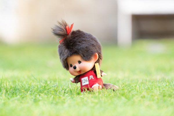 Monchhichi-doll-big-head-field-athlete-girl-262557a