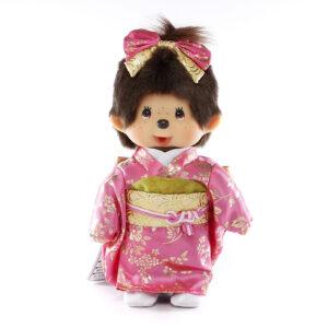Pink & Gold Kimono Girl