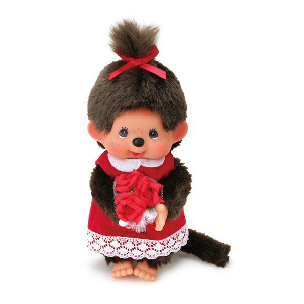 Monchhichi-doll-flower-bouquet-girl-261475