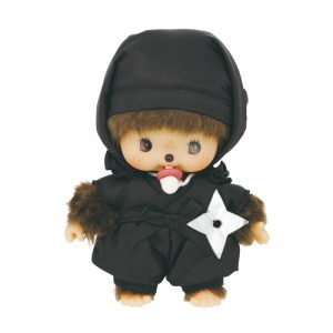 Monchhichi-bebichhichi-ninja-black-201181