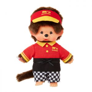 Monchhichi-doll-burger-staff-boy-262625
